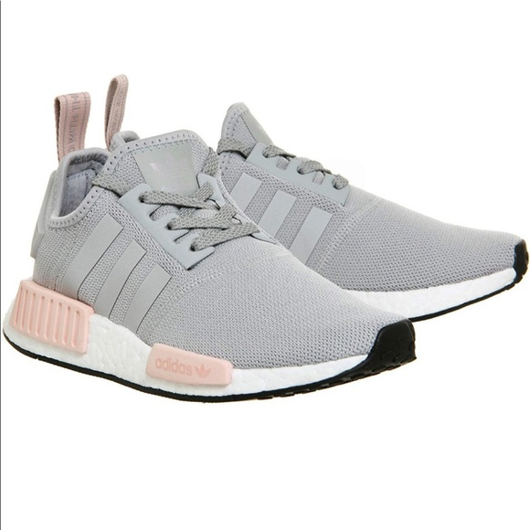 ADIDAS NMD R1 Grey Vapour Pink 8.5, BRAND NEW NWT